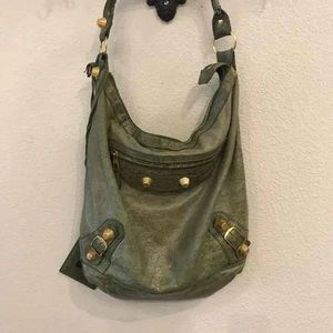 Balenciaga Classic City Shoulder Hobo Bag